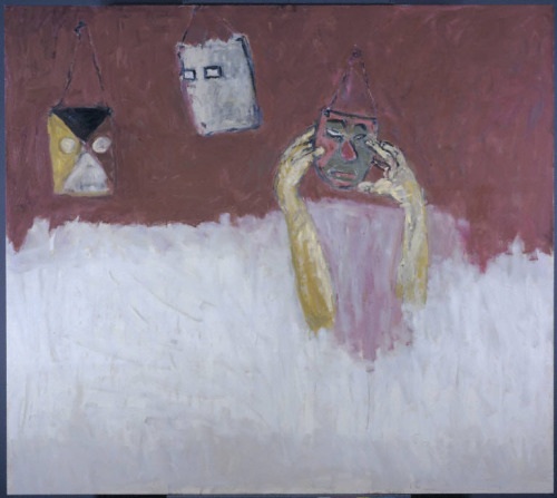 S. Rothenberg, Three Masks, 2006. Phillips Collection, DC