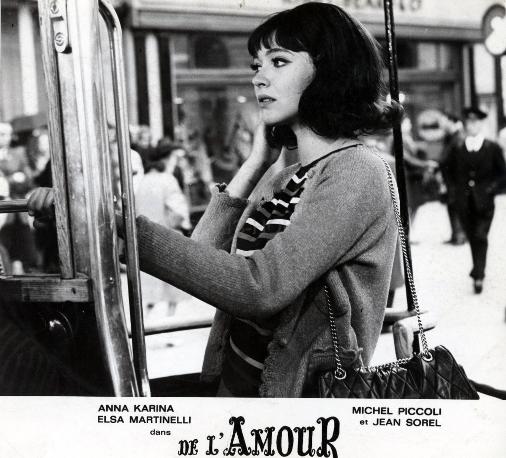 Lobby card for De l'amour, 1964.