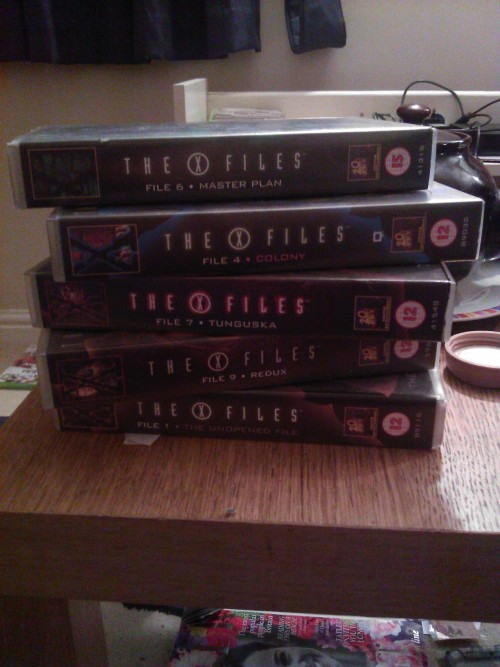 Also, I have more X Files.