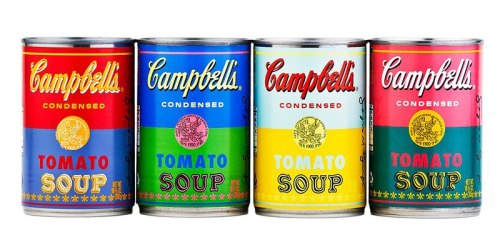 "Campbell's Condensed Soup has decided to release special commemorative cans to honor the release of Andy Warhol's ""32 Campbell's Soup Cans."" Will you be picking up some of these LE cans?"
