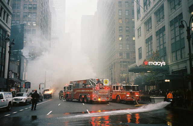 Short Bus Fire /// West 34th St. Macys /// New York, NY /// April 2012