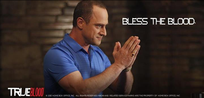 Chris Meloni (Roman) True blood.