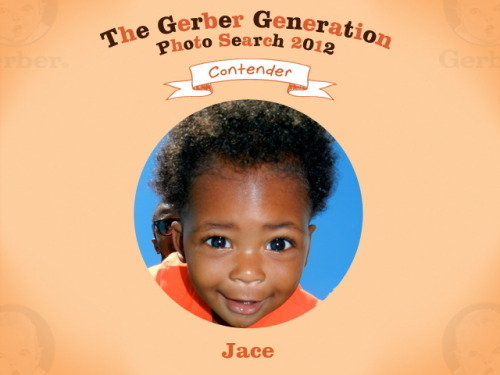 Vote for my son Jace in the Gerber Generations Photo Search! Help fund his future education please :)