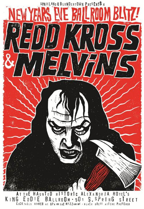 This New Year's Eve: Red Kross and the Melvins play Los Angeles