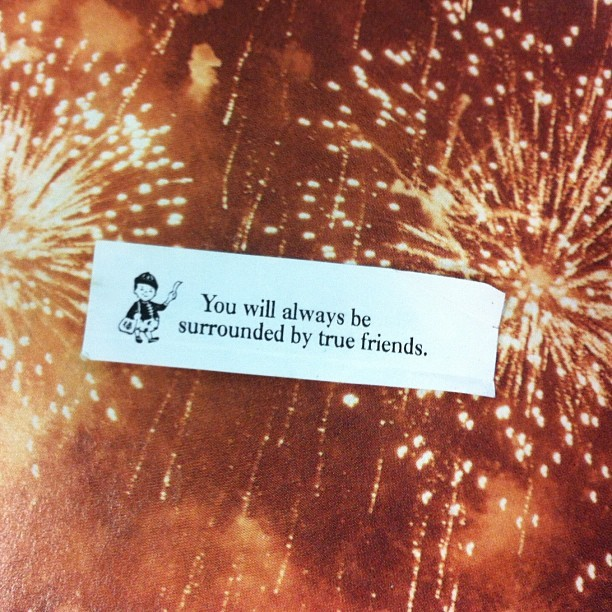 thenastygal:  best fortune ever.  (Taken with Instagram at Nasty Gal HQ)  Bang bang!!