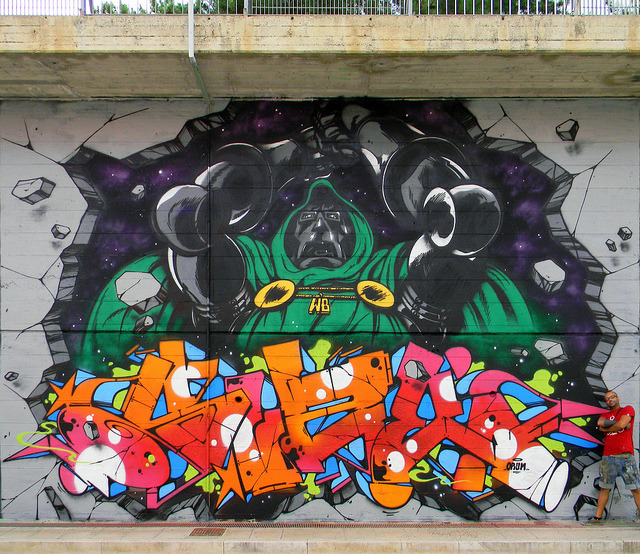 "badlyseen:  ""Draw the line"" Zeus Campobasso 2012' by Zeus40 and Wildboys on Flickr. Zeus WB"