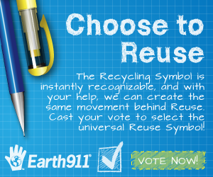 Help us make Reuse just as prevalent as Recycling by voting in our contest with GOOD Maker. The polls close Tomorrow, so time is running short! http://reusesymbol.maker.good.is/