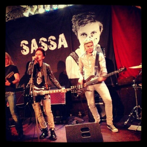 Sassa & The (fantastiska) Sixx i Stockholm den 5e september!! #music #band #live #show #concert #sassamusic #sassa #music #idolsassa  (Taken with Instagram)