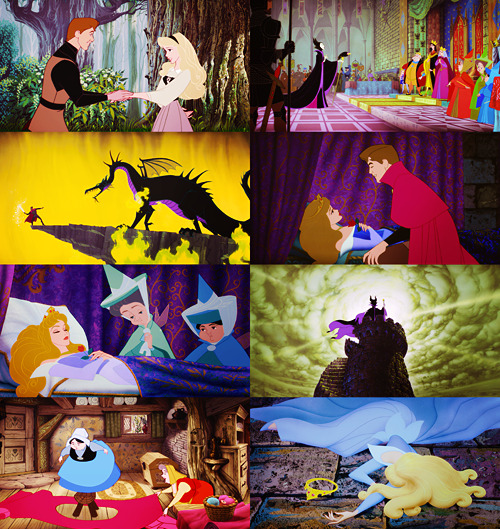 [?] - Favorite animated film → Sleeping Beauty (1959) [3/5]