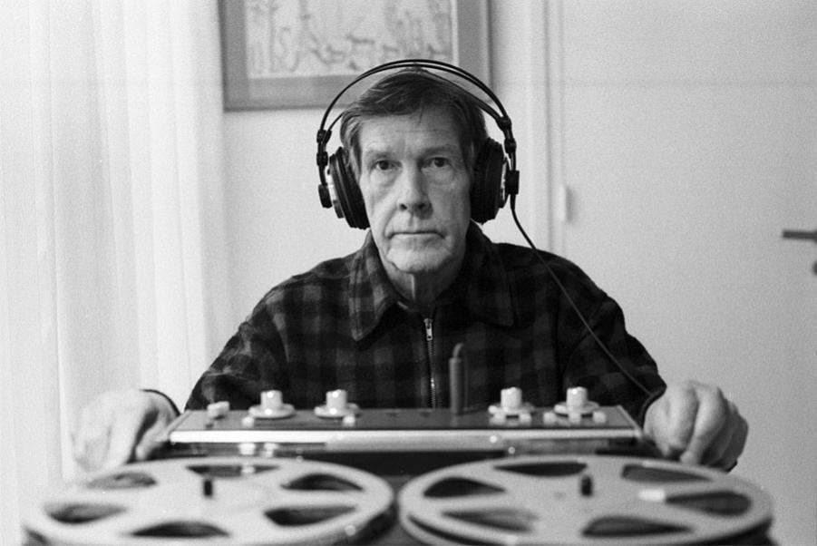 "Marking the centenary of John Cage, composer and artist: Sep. 5, 1912 - 1992… ""I can't understand why people are frightened of new ideas. I'm frightened of the old ones."" — J.C. Photo: Paris, 1981 Thank you, i12bent."