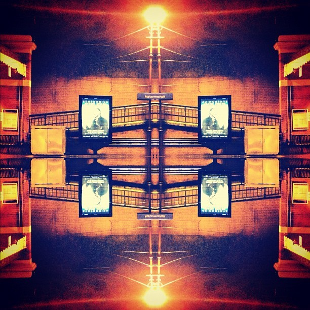 Squares #mirrored #squares #malvern #trainstation #train #station #koofstudio  (Taken with Instagram)