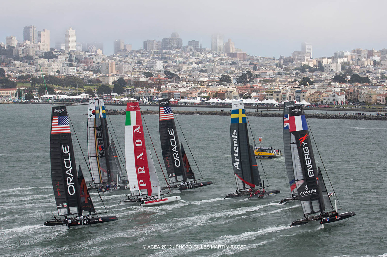 americascup:  ONE MONTH until America's Cup World Series returns to San Francisco!   We will miss this by 1 week…damn (sad face)