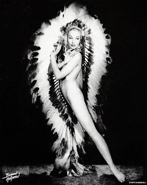 Burlesque Dancer Lili St. Cyr by Bernard of Hollywood c. 1950's