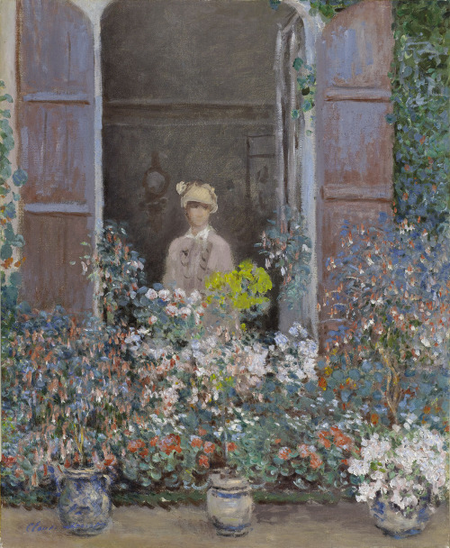 Oscar Claude Monet     Camille at the window, Argenteuil, 1873