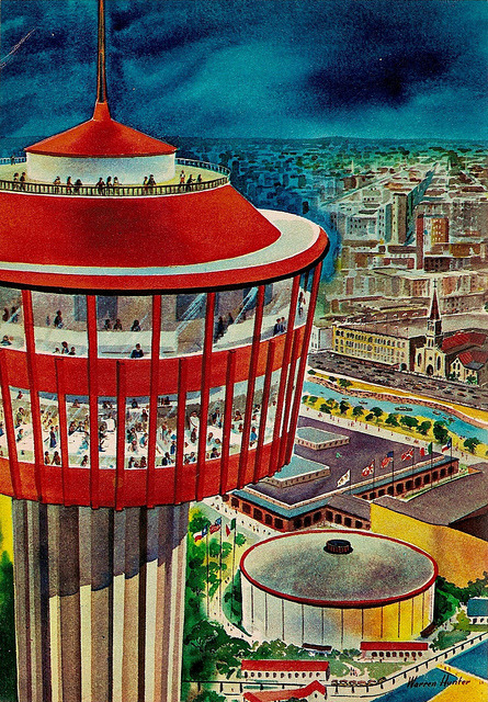Tower of the Americas (1968) by matthunterross on Flickr.
