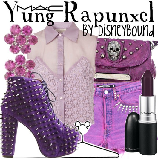 "Artist, Azealia Banks, has launched her very own lipstick ""Yung Rapunxel"", with MAC Cosmetics! If you're familiar with Azealia, you'll know she's a little bit of a Disney fan.  This is just an awesome and bold color! I'm in love!"