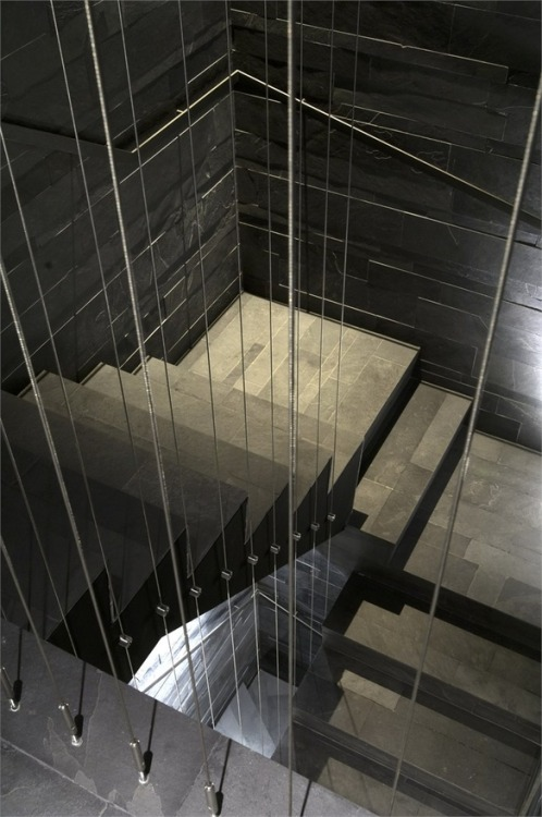 justthedesign:  Staircase OCA Restaurant