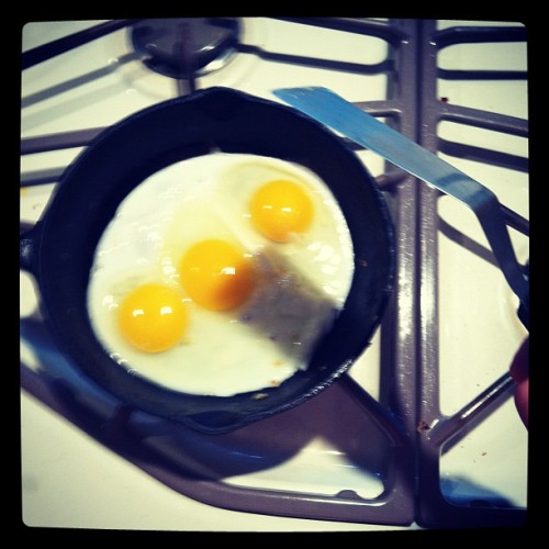 #eggs #cook #swag #whoop (Taken with Instagram)