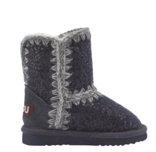 New kids Mou shoes for winter  In blue or red