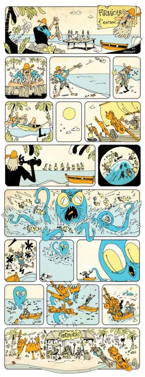 A great little wordless comic from Francois Maumont.