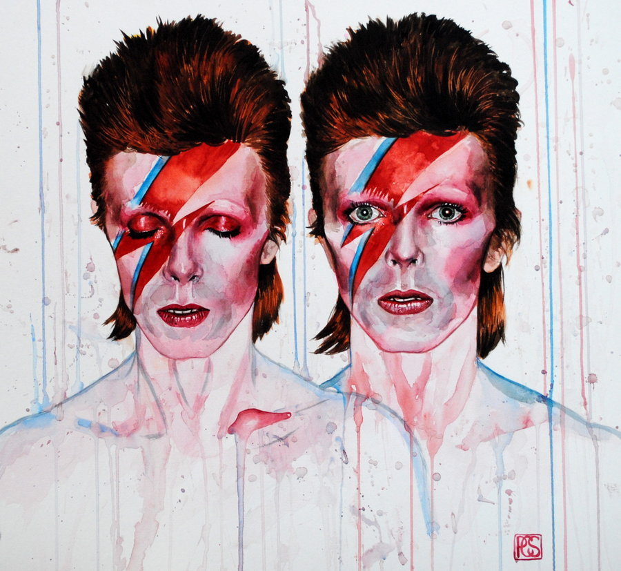 losamates:  Aladdin Sane by Mad-Margaret