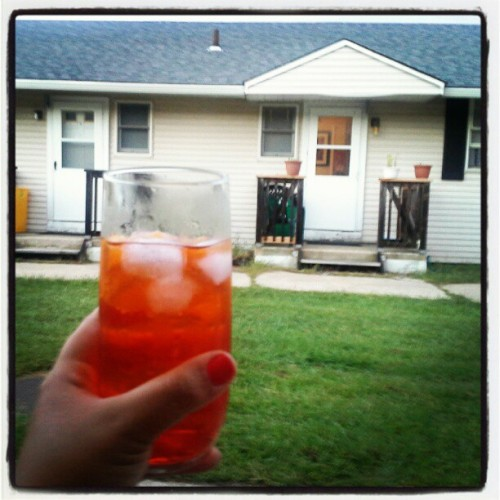 Spritz Bombin' at the 'Haven (Taken with Instagram)