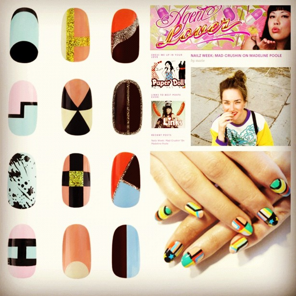 nailinghollywood:  check out @mpnails interview on @agentlover http://www.agentlover.com/blog/2012/09/04/nailz-week-mad-crushin-on-madeline-poole/
