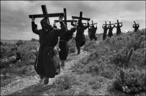 Cristina Garcia Rodero - Pilgrimage from Lumbier, Spain, 1980. … … from A History of Women Photographers by Naomi Rosenblum, Abbeville Press, 1994 … more here