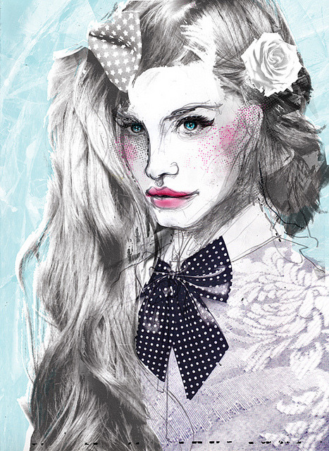 Lana Del Ray by Zé Otavio on Flickr.