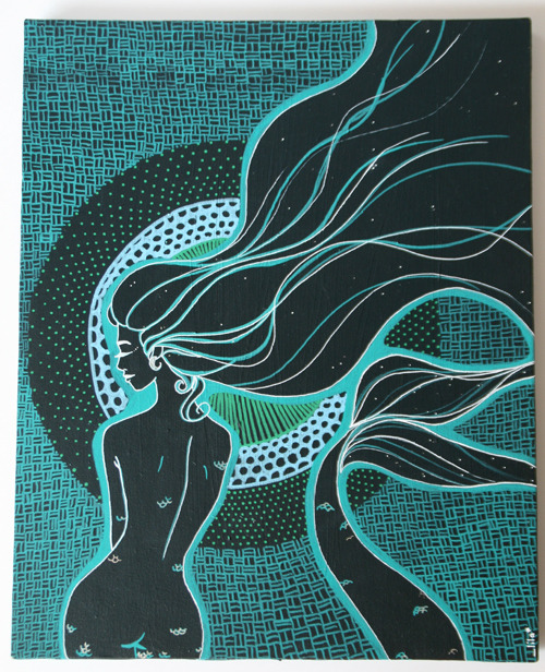 themerrowsseagarden:  Mami Wata - Mother Water By Lila, Toulouse, France