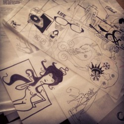More doodles from the past. (Taken with Instagram)