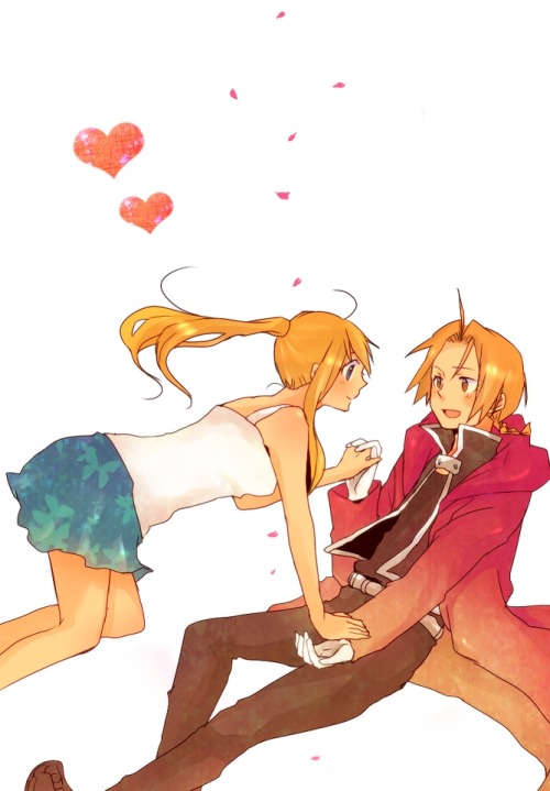 edwards-fullmetal-heart:  EdWin love