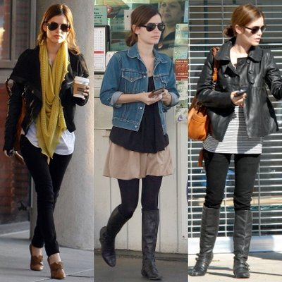crave4fashion:  Rachel Bilson  I love her style.