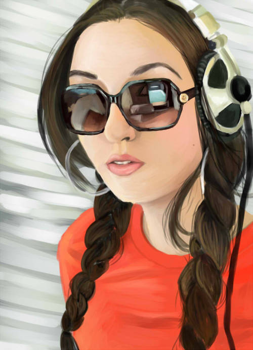 Sasha Grey done in about 8 hours in SAI Reference shot used.