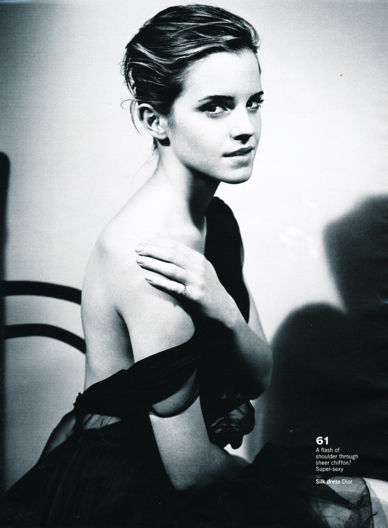 gasstation:  Emma Watson in Dior - Glamour UK by Vincent Peters, October 2012