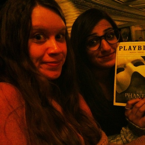 The phantooooooom of the opera is in our minds (Taken with Instagram at Majestic Theatre)