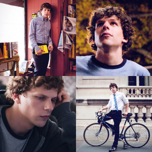 "Favorite Actors/Actresses → Jesse Eisenberg  ""If you're acting, then there's a prescribed way to behave; whereas in life there's no prescribed way. So acting feels like a comfortable way to get through the day."""