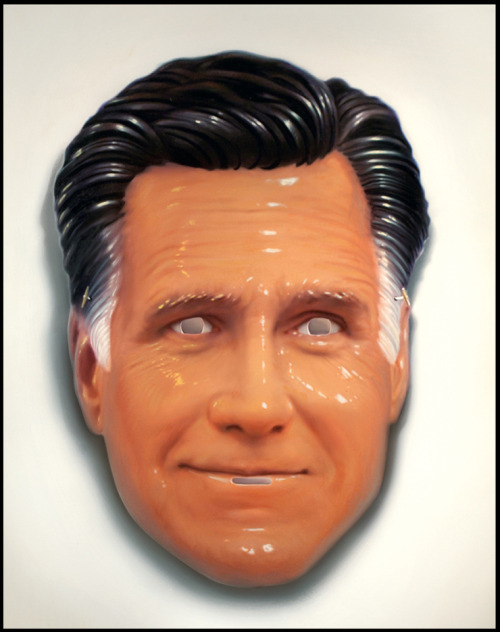 Illustration of Mitt Romney, from GQ magazine, by Tim O'Brien See a full collection of Mitt Romney illustrations from Rolling Stone, GQ, The New Yorker, The Boston Globe, and more, at SPD.org.