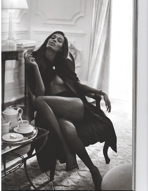 Joan Smalls photographed by Sebastian Faena for Harper's Bazaar UK, October 2012