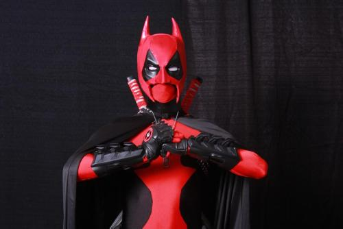 Move over Green Lantern Deadpool….  here comes…  BATPOOL!!! Cosplayer: James Ryan Photo by. Rodney Brown