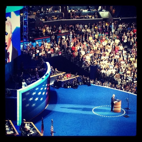 Panty melter Bill Clinton! Photo by @hordie  (Taken with Instagram)