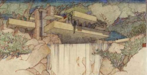 Columbia and Museum of Modern Art to House Frank Lloyd Wright Archive Image credit: The Frank Lloyd Wright Foundation Archives — The Museum of Modern Art | Avery Architectural & Fine Arts Library, Columbia University, New York
