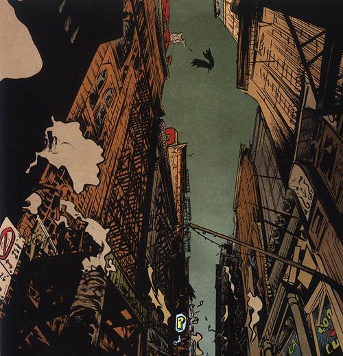Gotham, by Paul Pope
