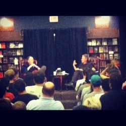 William Gibson (Taken with Instagram at The Last Bookstore)