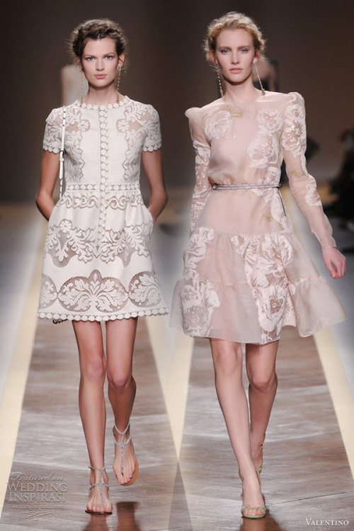weddinginspirasi:  (via Valentino Spring 2012 Ready-to-Wear | Wedding Inspirasi)