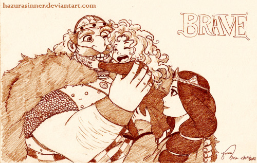 becausesometimesdreamsdocometrue:  Brave by HazuraSinner.