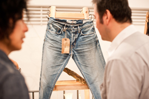 Washi Jeans launch event, August 30th @ Delstore, HK