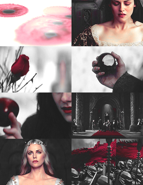 lisbethrooney:  Snow White and the Huntsman + red