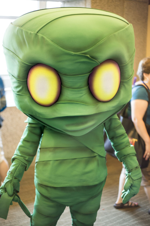 Really great shot of Amumu from League of Legends at PAX Prime 2012