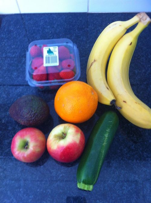 There is always a way to eat healthy on any budget. I just bought all this for $3.60!  TIPS: - When shopping for fruits and vegetables, shop at fruit/vegetable markets. They will have very little mark up on prices where as big supermarkets have huge mark ups!   - Buy fruits and vegetables that are in season, they will be the least expensive because they are in continuous supply.  -Keep an eye on specials! You can save yourself up to 80%!  -Be realistic! Just because it's $2.00 for 4kg of apples doesn't mean you should buy it, unless you plan on eating them all before they go bad. You might aswell throw away your money if you plan on doing this so always think about whether or not you will eat it in time.  -Don't be afraid to shop at a couple different places for your fruits and vegetables, some places have different specials to other stores. It might take a little longer but it will save you money. Supermarkets make a lot of money from convenience.   -Shop when you know when the market is usually quiet, it will allow you to look around and compare prices. When you shop when it's busy, you feel rushed and just pick up what you need without thinking of prices!    STAY POSITIVE